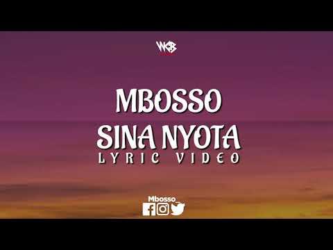 Mbosso - Sina Nyota (Lyric Video)