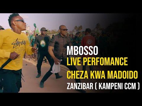 Mbosso live perfomance Cheza kwa madoido Zanzibar ( kampeni ccm )