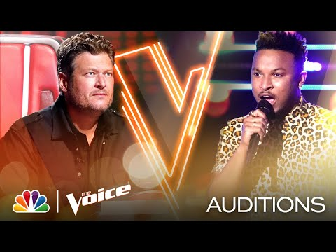 """Jus Jon Is Powerful on Khalid's """"Talk"""" - The Voice Blind Auditions 2020"""