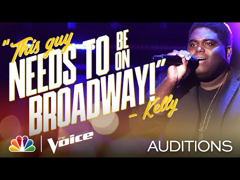 """James Mays Brings the Theatrics to Queen's """"The Show Must Go On"""" - The Voice Blind Auditions 2020"""