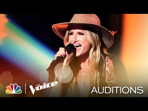 "Becca Kötte Rocks on The Guess Who's ""American Woman"" - The Voice Blind Auditions 2020"
