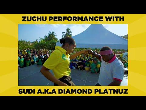 Zuchu Performance With Sudi (A.K.A Diamond Platnumz)