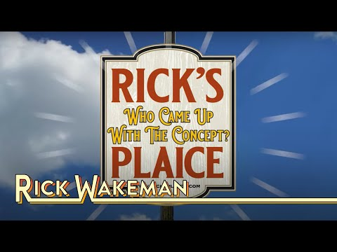 Rick Wakeman - Who Came Up With The Concept? | Rick's Plaice
