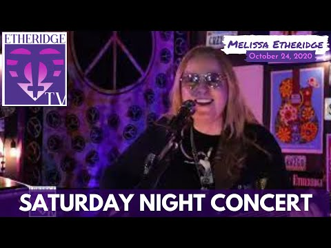 Melissa Etheridge Performs (Brave and Crazy and more) on Saturday Night Concert (Oct 24, 2020)