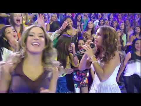 Claudia Leitte e Ivete Sangalo cantam ''Pra Frente''