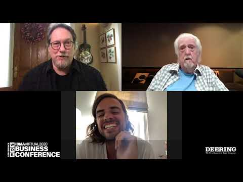 Jerry Douglas Discussion with J.D. Crowe & Winston Marshall (from Mumford & Sons)