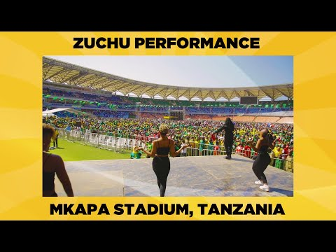 Zuchu Performance At Mkapa Stadium