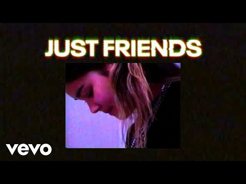 Audrey Mika - Just Friends (Lyric Video)