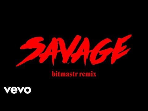 Bahari - Savage (bitmastr remix) (Official Audio)
