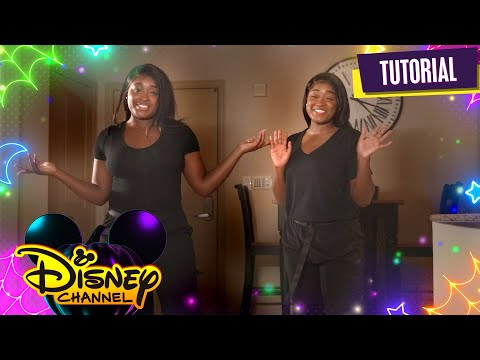 Halloween House Party 🎃 | Dance Tutorial | Disney Channel