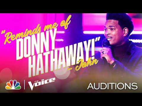 """Tony Mason with Donny Hathaway's Version of Marvin Gaye's """"What's Going On"""" - Voice Blind Auditions"""