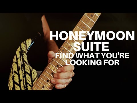 Honeymoon Suite - Find What You're Looking For (Official Music Video)