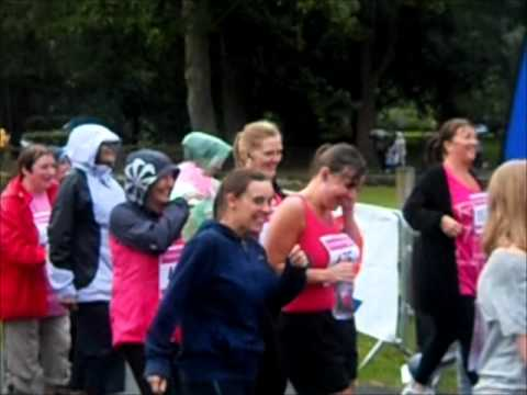 RACE FOR LIFE 2011 Knowsley Hall