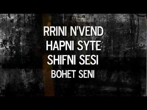 Varrosi - Keni Vdek [OFFICIAL LYRIC VIDEO]