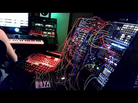 Glenn Morrison - Modular Bunker Sessions - Making Progressive House Music with Eurorack