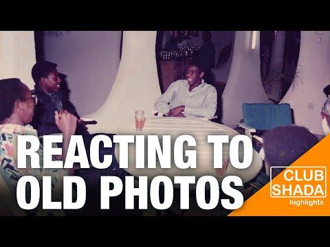 Reacting to photos of me from 1989 in Kinshasa   Club Shada