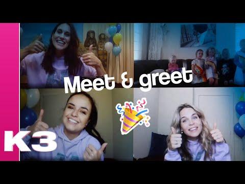 Een meet & greet tijdens corona? - K3 vlog #67