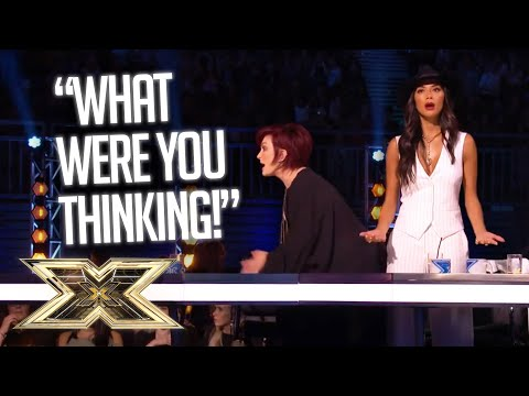 AS IF! MOST SHOCKING SIX CHAIR SING-OFFS! | The X Factor UK