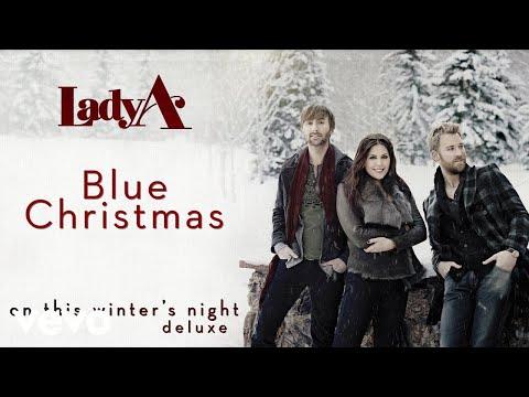 Lady A - Blue Christmas (Audio)