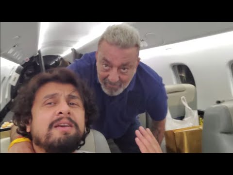 #SonuLiveD | VLog 99 | Off to Dubai once again. A hale and brave Sanjay Dutt bhai and my little ones