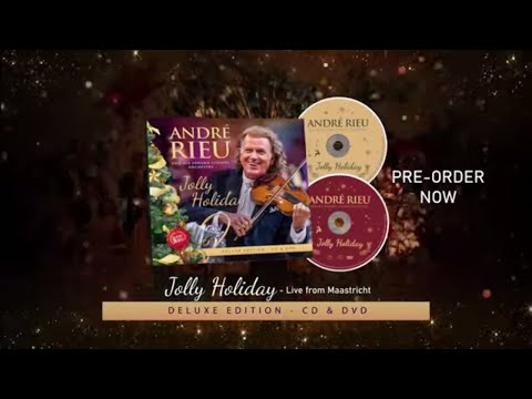 Pre-order now: André Rieu - Jolly Holiday