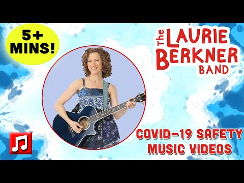 5+ Minutes: COVID-19 Safety Superhero Videos for Kids by The Laurie Berkner Band   Best Kids Songs