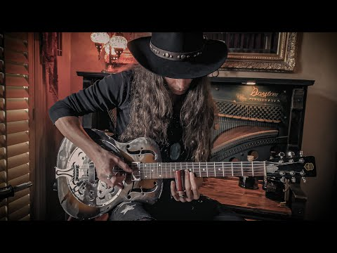 GHOST OF THE MOUNTAIN • Dark Country Blues Slide Guitar