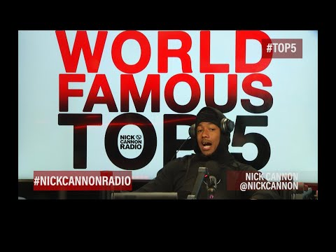 World Famous Top 5! Top 5 Richest Rappers #Top5 #NickCannonRadio