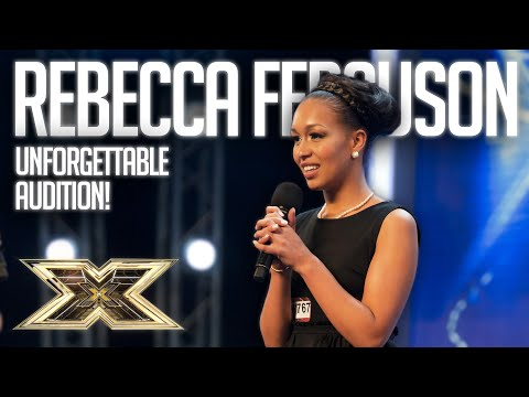 A shy 23 year old REBECCA FERGUSON knew a change was going to come! | The X Factor UK