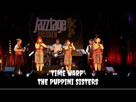 Time Warp (Rocky Horror Picture Show Cover) - The Puppini Sisters