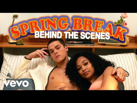 AJ Mitchell - Behind the Scenes of Spring Break ft. Rich The Kid