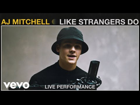 "AJ Mitchell - ""Like Strangers Do"" Live Performance | Vevo"