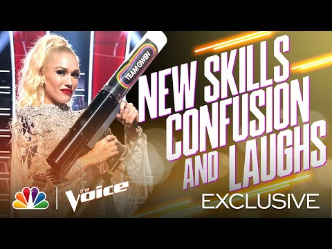The Coaches Use New Skills, Get Confused and Laugh Throughout - Voice Blind Auditions 2020 Outtakes