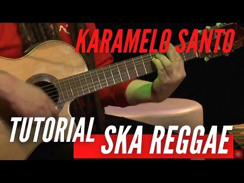 Como tocar Reggae y Ska (Drums batería, Guitarra y Estilo) Karamelo Santo Tutorial HD