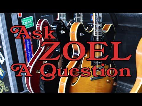 Ask ZOEL A Question: JB's Guitars