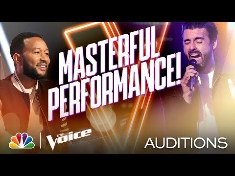 """James Pyle Closes Team Legend Singing Harry Styles' """"Watermelon Sugar"""" - Voice Blind Auditions 2020"""