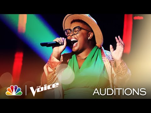 "Neci Sings Billie Holiday's Jazzy ""God Bless the Child"" - The Voice Blind Auditions 2020"