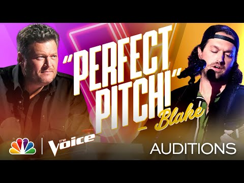 """John Sullivan Croons Jim Croce's """"Operator (That's Not the Way It Feels)"""" - Voice Blind Auditions"""