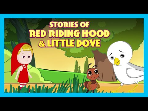 Stories Of Red Riding Hood & Little Dove | Moral and Bedtime Stories For Kids| Kids Hut Storytelling