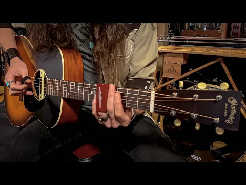 """The ULTIMATE Back Porch Blues Machine! • Martin's 000-17 """"Whiskey Sunset"""" Acoustic Guitar"""