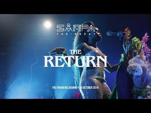 Sampa The Great - The Return live at Red Bull Music Festival Melbourne - Recap