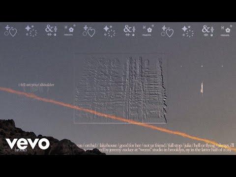 Jeremy Zucker - brooks (Official Lyric Video)
