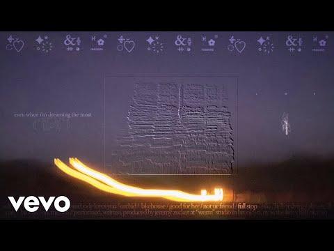 Jeremy Zucker - full stop (Official Lyric Video)