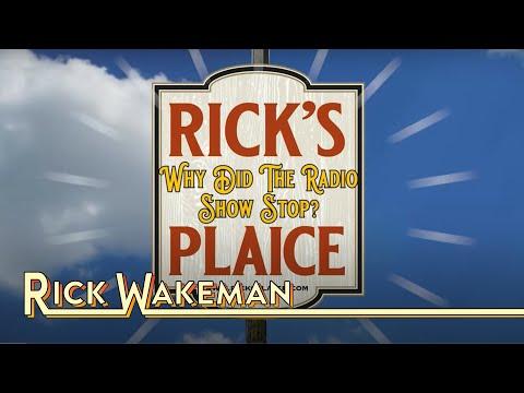Rick Wakeman - Why Did The Radio Show Stop? | Rick's Plaice