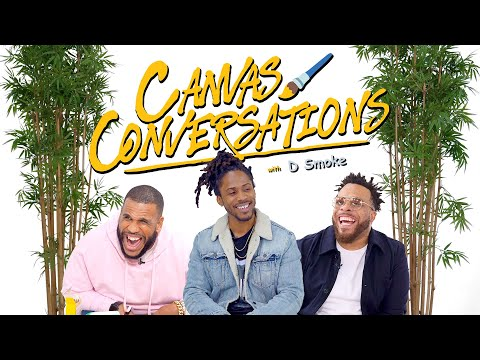 D Smoke Drops Street Knowledge While Being Drawn | Canvas Conversations