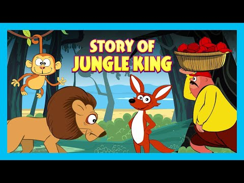 Story Of Jungle King | Learning Stories For Kids| Tia & Tofu Story Telling | Kids Hut Storytelling