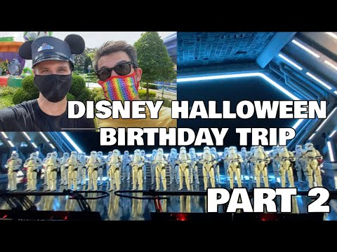 Our Halloween Birthday Disney Trip- DURING COVID- Part 2