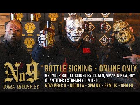 Slipknot Whiskey | Bottle Signing w/ Clown, Vman & NG
