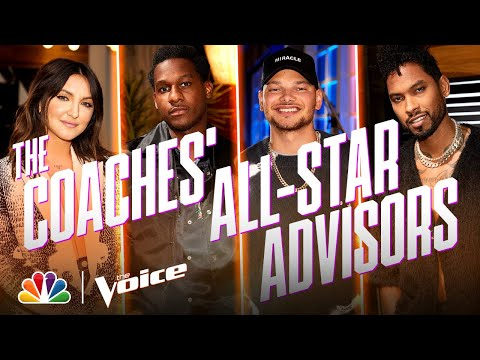 Teams Kelly, Legend, Blake and Gwen Have Their Spectacular Advisors - The Voice 2020