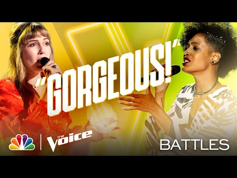 "Lauren Frihauf vs. Payge Turner - JP Saxe's ""If the World Was Ending"" - The Voice Battles 2020"